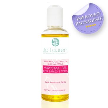 Jo Lauren Organic Calendula & Chamomile Massage Oil