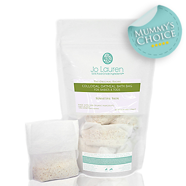 Organic Baby Colloidal Oatmeal Bath for Eczema Babies