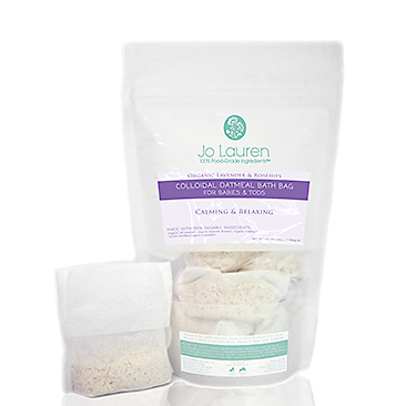 ganic Lavender & Rosehips Colloidal Oatmeal Bath Bag